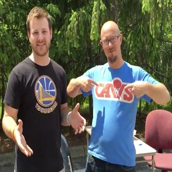 Cavs vs. Warriors Egg Roulette