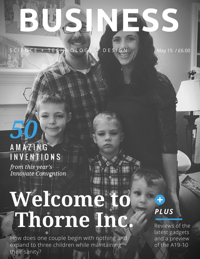 Welcome to Thorne Inc.