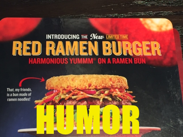 FINALLY! A Ramen Noodle Burger